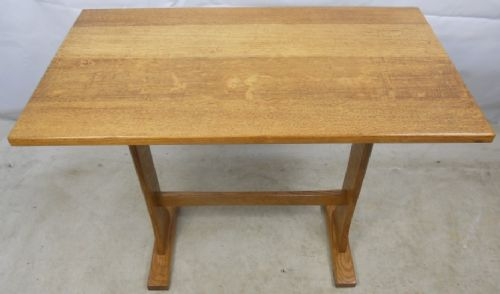 Antique Jacobean Style Light Oak Refectory Centre Table - SOLD